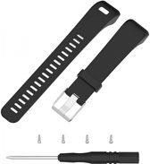 Just in Case Sportbandje voor Garmin Vivosmart HR Plus - Vervangbare armband - zwart