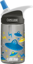 CamelBak Eddy Kids drinkfles - 400 ml - Antraciet (UFOs)