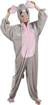 Volwassenenkostuum Olifant Pluche - Maat XL