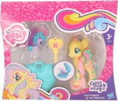 Plastic My Little Pony speelfiguren set Fluttershy geel