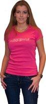 AutoStyle Dames Shirt Roze Maat M