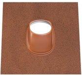 Pan Ubiflex Ø131 - 500x600 - 35°-55° natuurrood met knobbel natuurrood