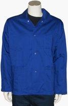 Yoworkwear Werkjasje polyester/katoen korenblauw maat M