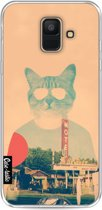 Casetastic Softcover Samsung Galaxy A6 (2018) - Cool Cat