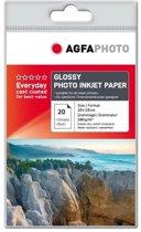 10x15 AgfaPhoto Foto Papier 180gr. 20v. Glans