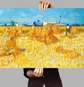 Poster Oogst Provence - Vincent van Gogh