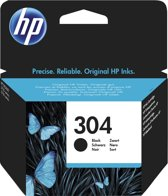 HP 304 - Inktcartridge / Zwart / Blister