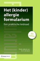 Het (kinder)allergie formularium