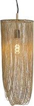 QAZQA catena - Hanglamp - 1 lichts - Ø 200 mm - Goud/messing