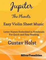 Jupiter the Planets Easy Violin Sheet Music