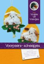 DIY wolvilt pakket: Voorjaars- schaapjes