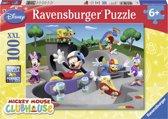 Ravensburger puzzel Disney Mickey Mouse. Mickeys vrolijke skate club - Legpuzzel - 100 stukjes