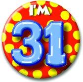 Paperdreams Button Klein - I'm 31