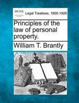Principles of the Law of Personal Property.