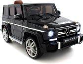 Mercedes kinderauto G-klasse 63 AMG zwart