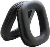 MMOBIEL Koptelefoon oorkussens earpads geschikt voor: Logitech (Zwart) Inclusief handleidi