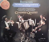 3-CD BEETHOVEN - THE MIDDLE STRING QUARTETS opp. 59, 74, 95 - GUARNERI QUARTET