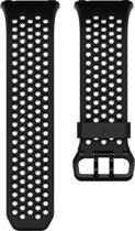 Fitbit Ionic Sport bandje - Zwart/Grijs - Large