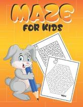 Maze For kids: A Maze Activity Books for Kids 6-12, This is great for developing problem solving skills and critical thinking skills