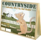 Animal Construction Kit - Countryside Monty Mouse