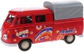 Toi-toys Miniatuur Volkswagen Pick-up Peace Rood
