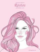 Livro para Colorir de Rostos para Adultos 3 & 4