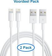 MMOBIEL 2 STUKS! USB naar 8 pin lightning kabel oplader voor iPhone / iPad / iPod