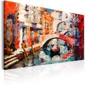 Schilderij - Zomer in Venetië