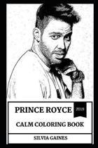 Prince Royce Calm Coloring Book