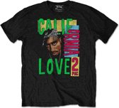 Tupac - California Love heren unisex T-shirt zwart - XL