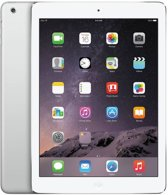 Apple iPad Air - WiFi + 4G - 64GB - Wit/Zilver - Tablet