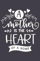 A Mother Is the Heart of a Home