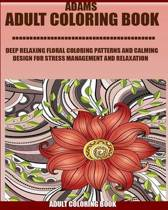 Adams Adult Coloring Book