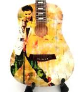 Miniatuur gitaar Elvis Presley - Tribute