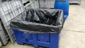 Palletboxzak zwart - 670 liter - 50 zakken