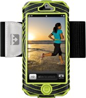 Nathan SonicBoom iPhone 5 Armband Zwart/Lime