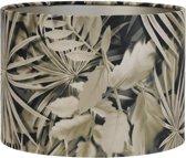 Light & Living Kap cilinder 35-35-30 cm VELOURS palm sepia