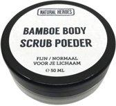 Bamboe BODY Scrub Poeder (50 ml)