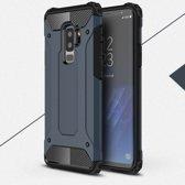 Samsung Galaxy S9+ Armor Hybrid Case - Blauw