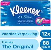 Kleenex Original Tissues - 12x 88 stuks - Voordeelverpakking