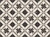 Vinyl Vloerkleed | Vintage Floor Tile old dark | 170x240cm