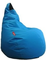 Sit on it Zitzak Dropseat Electric Blue - 100 x 70 x 80 cm
