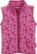 Playshoes Bodywarmer Sterren Fleece Junior Roze Maat 80