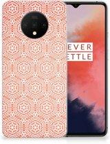 OnePlus 7T TPU bumper Pattern Orange