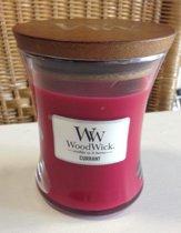 Currant Medium WoodWick Candle