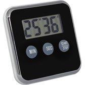 Magnetische Kookwekker Inclusief Standaard + Batterij | Digitale Kook Wekker | Kookwekker | Zwart