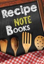 Recipe Note Books