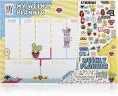 Vibe Squad weekplanner - Met stickers