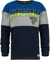 Vingino Jongens T-shirt - Dark Blue - Maat 98