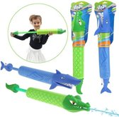SPLASH Foam waterpistool dieren KROKODIL